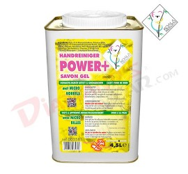 POWER PLUS SAVON MAINS JAUNE 4x4,5L