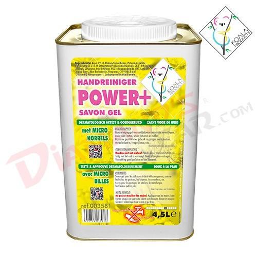 POWER PLUS SAVON MAINS JAUNE 4x4,5L