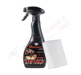 NETTOYANT CUIR - LEATHER CLEANER 500ML (+ 2 ÉPONGES CUIR )